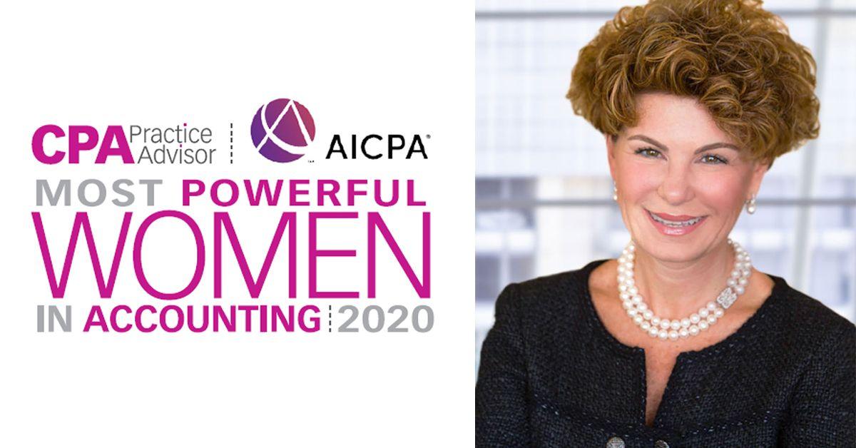 Karen Abramson, CEO da Prosoft Tax & Accounting, mais uma vez reconhecida como uma das mulheres mais poderosas da contabilidade.